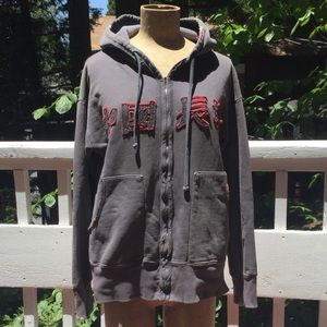 The Great China Wall Zip Hoodie